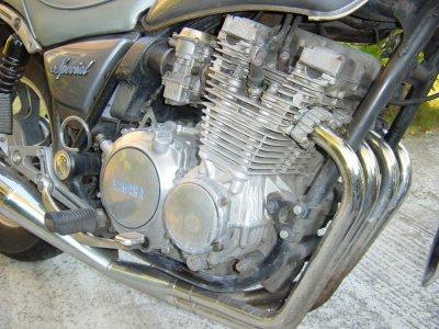 xj650 blog 1983 Silver Special XJ650 Maxim engine